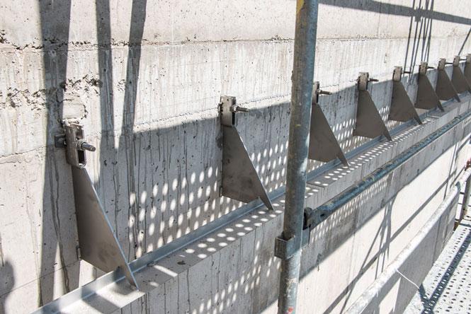 Sendvičové zdivo s provětrávanou vzduchovou mezerou